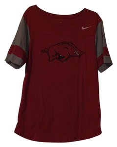 Nike T Shirt Red and grey