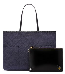 Tory Burch T Felt Tote Shoulder Bag