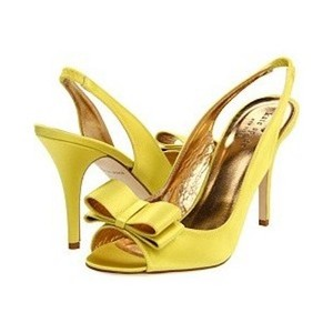 Kate Spade Yellow Pumps