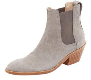 Rag & Bone Leather Designer Low Heal Grey Boots