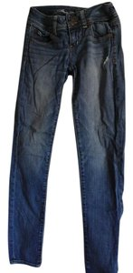 American Eagle Outfitters Stretchy Skinny Jeans-Medium Wash