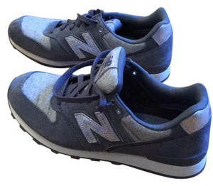 New Balance collection for J.Crew Grey and silver Athletic