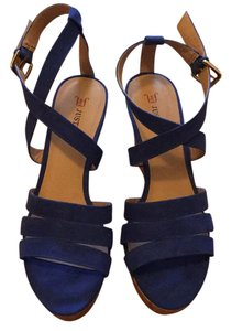JustFab Cobalt blue Wedges
