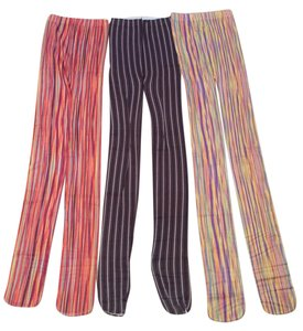 Bloomingdale's 3 pairs of striped pinstripe designer opaque tights from Bloomingdales