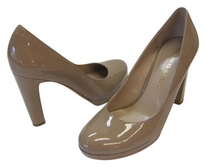 Franco Sarto New Size 6.00 M Patent Excellent Condition Neutral Pumps