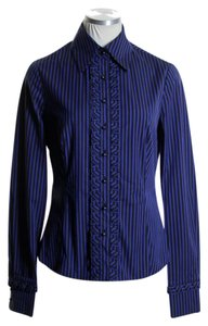 Carlisle Button Down Shirt Blue Black