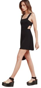 Reformation Buttoned Straps Slim Fit Fitted Waist True To Size Dress