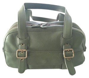 Marc Jacobs Leather Like Satchel in Green