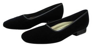 Karen Scott Size 8.00 M Leather Soles Very Good Condition Dark Navy Flats