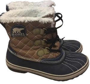 Sorel navy/tan Boots