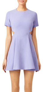 Elizabeth and James short dress Lilac on Tradesy