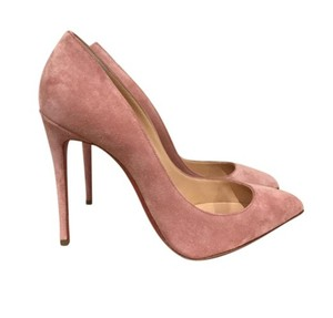Christian Louboutin Louboutin Pigalle Follies Ronsard Pink Suede Pumps