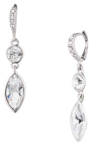 Givenchy Clear swaroviski elements crystal earring