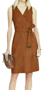 Banana Republic Suede Luxury Evening Sleeveless Exclusive Dress