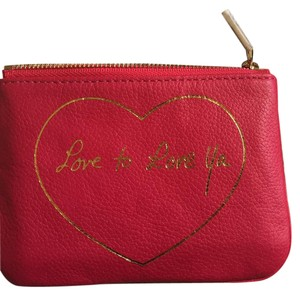 Rebecca Minkoff Cory Pouch Love To Love Ya Wallet