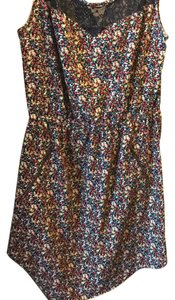 Eyeshadow short dress multi colored on Tradesy