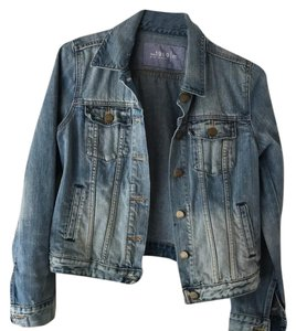 Gap medium/light blue Womens Jean Jacket