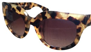 Prada Cat Eye Acetate Sunglasses