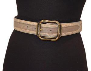 Bottega Veneta Bottega Veneta crocodile and lizard skin belt