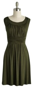 Modcloth short dress Olive Green on Tradesy