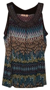 Cato Top Blue multi