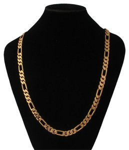 ** NWT ** 14K YELLOW GOLD ( Unisex ) FIGARO LINK CHAIN