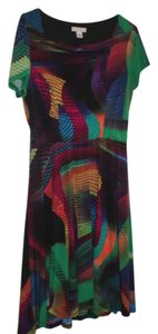 Cato short dress Multi-Colored Fit And Flare Vintage Styled on Tradesy