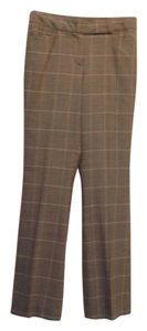 Talbots Trouser Pants Tan brown check