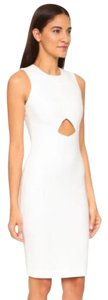 Elizabeth and James Pencil Sheath Cut-out Sleeveless Dress