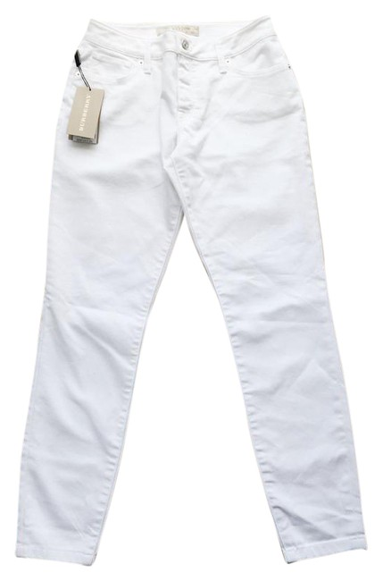 Item - White Skinny Relaxed Fit Jeans Size 27 (4, S)