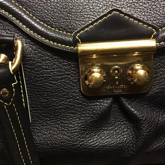 Louis Vuitton Suhali Absolu De Voyage Purse Satchel in black Image 1