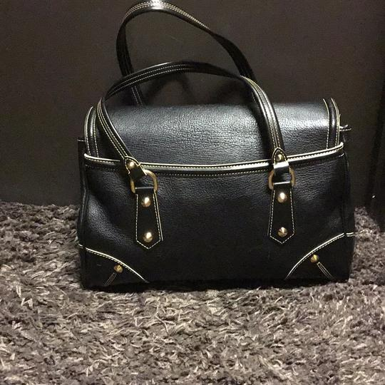 Louis Vuitton Suhali Absolu De Voyage Purse Satchel in black Image 2