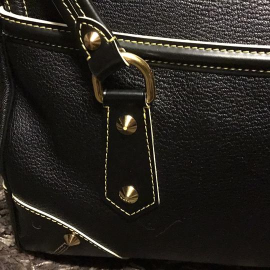 Louis Vuitton Suhali Absolu De Voyage Purse Satchel in black Image 3