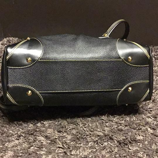 Louis Vuitton Suhali Absolu De Voyage Purse Satchel in black Image 7