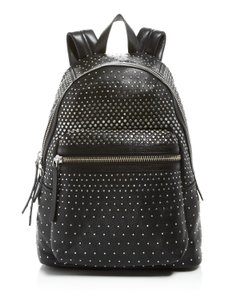 Marc by Marc Jacobs Leather Studded Black Silver Backpack