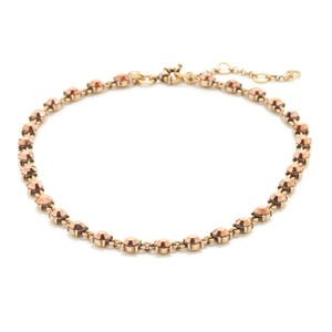 J.Crew Rose Gold crystal necklace
