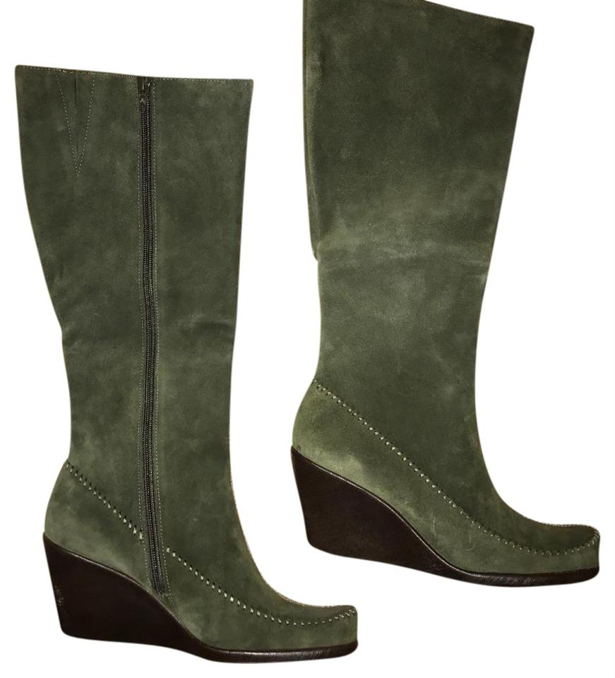 bc080ca92629 Aerosoles Forest Leather Boots Booties. Size  US 8 Regular (M ...