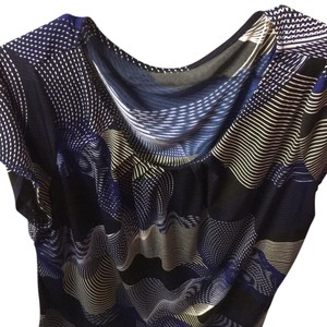 Worthington Top black and blue