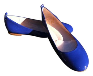 Vince Camuto Boat Blue Flats