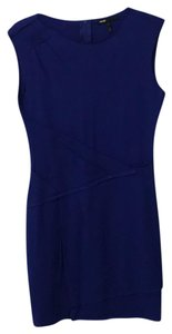 Maje short dress Royal blue on Tradesy