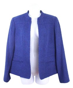 Anne Klein Tweed Vintage Blue Blazer