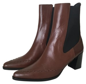Derek Lam Embroidered Classic Brown Boots