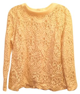 Banana Republic Lace Chic Sweater