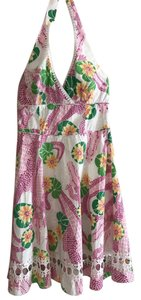 Lilly Pulitzer short dress Pink, Green, Yellow, Orange and White on Tradesy