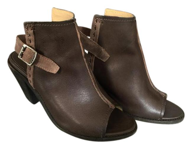 Item - Charcoal- Brown Gray Izzy Artisan Sling Boots/Booties Size US 7.5 Regular (M, B)