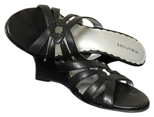 Maurices Black Wedges