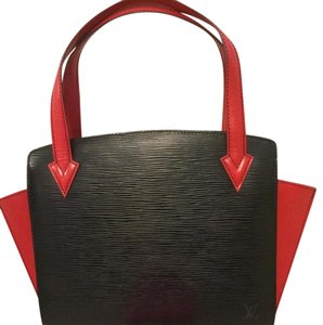 Louis Vuitton Tote in Black,Red