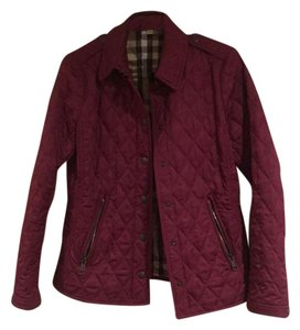 Burberry Brit Maroon/purple Jacket