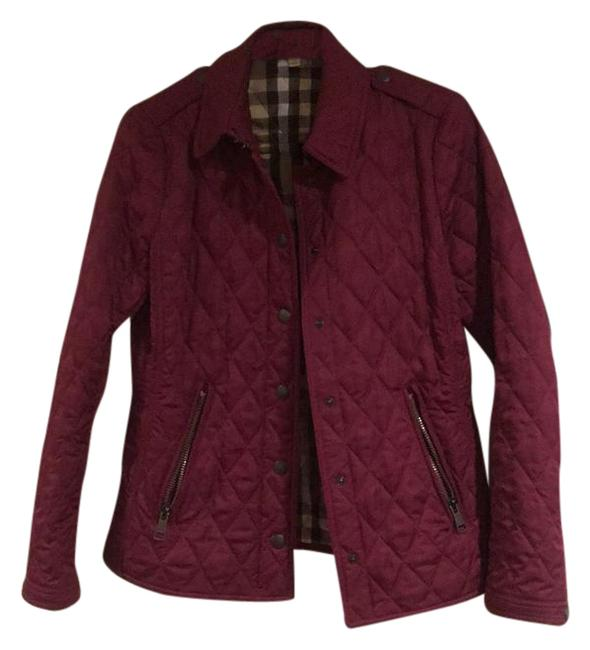 Item - Maroon/Purple Mondale Regency Quilted Jacket Size 8 (M)