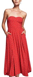 red, white Maxi Dress by Free People